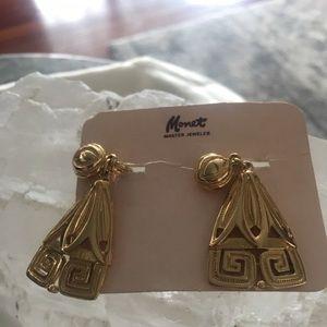 Monet. New old stock dangle earrings  new listing